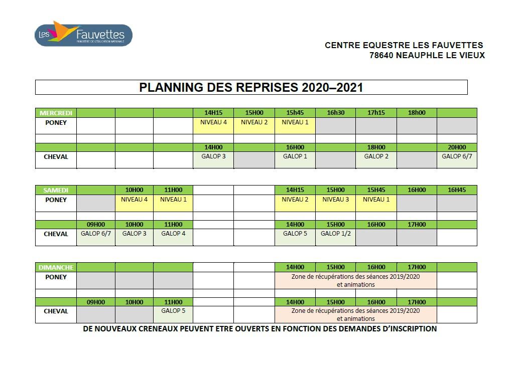 planning reprises 2020-2021 site internet